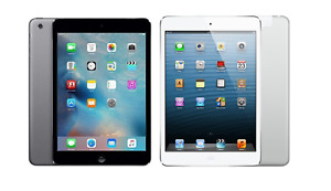 Apple iPad Mini 2, 16/32/64GB - WiFi or 4G - 7.9in - Grey or Silver - Excellent