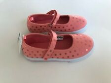 CARTER'S TODDLER Pink Textile Shoes Size 10