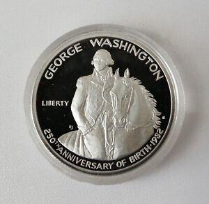 1982 George Washington 250th Birthday Half Dollar 90% Silver Coin OGP