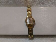 Caravelle Wind Up Watch 17 Jewels N9 10 20 50 Swiss Gold Link Band Vintage