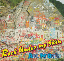 WITH A GIRL LIKE YOU COVER THE TROGGS, BY ALEX W. BETTINI, ROCK UNDER MY SKIN CD