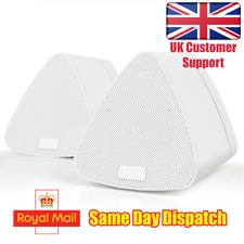 Dual Wireless Speakers for Mac/PC - August MS515 - Stereo Bluetooth Speaker Pair