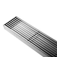 Heelguard Stainless Steel Shower Grate Drain Floor Bathroom 800mm