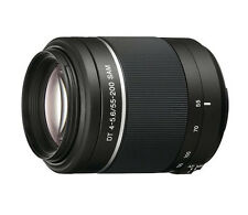 Sony 55-200mm f/4.0-5.6 DT A-Mount Telephoto Zoom Lens SAL55200-2 (White Box)