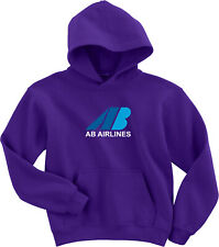 AB Airlines Retro Logo English Airline Hoody