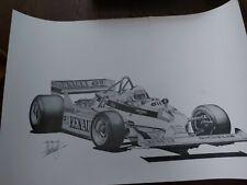 More details for original renault #15 1980s alan stammers grand prix f1 print