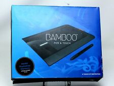 Bamboo Pen & Touch Drawing Tablet with Everything Included ~ Great Condition