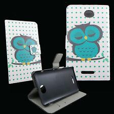 Custodia book GUFO VERDE per Sony Xperia E4 flip cover STAND protezione libretto