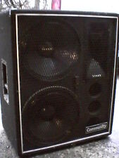 """Community CSX-58 and CSX-57 S-2 speakers. Upgraded Celetion 15"""" drivers...Rare!"""