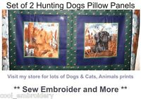 Dog dogs puppy animals cotton quilting fabric **Choose Design or panel