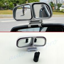2PCS Auto Wide Angle Auxiliar Adjustable Rear Side View Blind Spot Mirror Trim