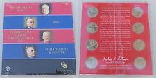 USA Presidential 1$ Coin uncirculated Set 2014 / Präsidentendollar P und D 2014