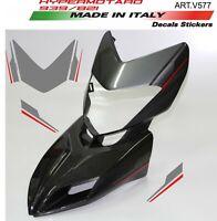 Kit adesivi per cupolino Hypermotard 939 design personalizzato Grey