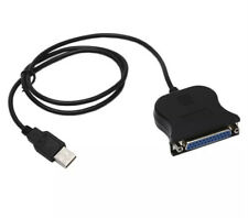 25-Pin Parallel Port To USB 2.0 Cable