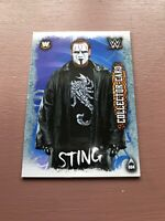 Topps Slam Attax Live: Sting Collector Card WWE