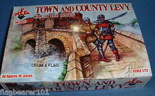 Redbox Set 72041-Town & Country Levy-GUERRA DEI ROSES-Scala 1/72