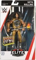 Seth Rollins WWE Mattel Elite Series 57 Brand New Action Figure - Mint Packaging