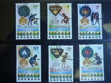 Scoutisme Grenade et Grenadines - 3 très belles séries complètes