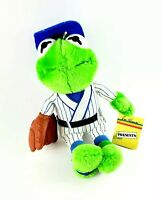Vintage 1988 Jim Henson Muppets Kermit Frog Baseball Fan Player Plush Dakin