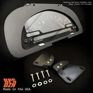 S2000 Cluster Conversion Dry Carbon Fiber MOUNTING KIT for Honda Civic