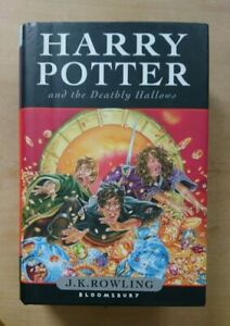 First Edition Harry Potter 7 and the Deathly Hallows, J. K. Rowling