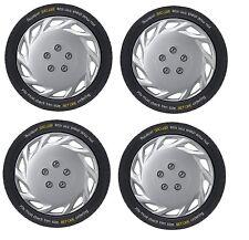 Fiat Stilo Multi 16 inch Vegas Silver Wheel Trims (2003-2008)