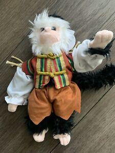 "NEW Jack the Monkey capuchin Disney Pirates of the Caribbean 9"" plush doll"