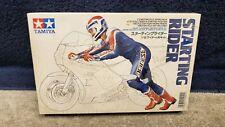 Vintage Tamiya Motorcycle Starting Rider 1/12 Scale Factory Sealed
