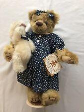 Gund Barton's Creek Teddy Bear, Blue Dress & Bunny