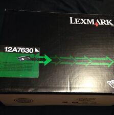 Brand New Lexmark 12A7630 Black Ink Toner Cartridge T632 T634 X632 Open Box OEM
