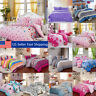 All Size Duvet Cover with Pillow Case Quilt Cover Bedding Set Single Double King