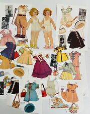 Shirley Temple Paper Dolls & Outfits 1991