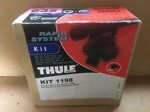 Thule Fitting Kit 1198 for KIA RIO (Mk1) 4 dr Sedan / 5 dr Hatchback 2000 - 2005