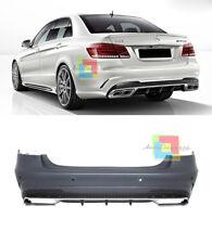 PARAURTI POSTERIORE AMG E63 IN ABS PER MERCEDES CLASSE E W212 2013+ LIFT