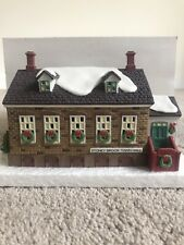"""Dept 56 """"New England Village Series"""" Stony Brook Town Hall #56448 Great Find"""