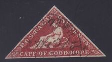 COGH 1d SG 18 Deep Carmine-Red, DLR used, F-VF, Lot 6340