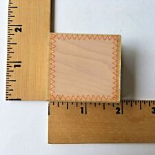 Hero Arts Rubber Stamp - Square Stitched Edge Background - C3478 - NEW