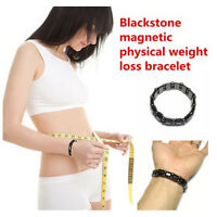 New Weight Loss Round Black Stone Bracelet Health Care Magnetic Therapy Bracelet
