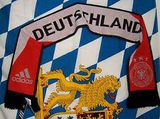 Adidas German Soccer Fan Scarf Deutscher Fussball Bund Shawl Deutschland  NEW