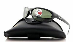 Authentic Ray Ban Predator Black Green Sunglasses RB4115 601/9A 57 mm