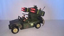 CHAP MEI Military Jeep Humvee Rocket Launcher Soldier Force MP 204 GI JOE RARE