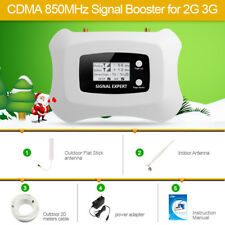 CDMA 850MHz Phone Signal Boosser Signal Repeater for US 2G 3G with large cover