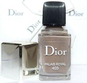 Christian DIor DIOR Vernis Nail Color 403 Palais Royal New