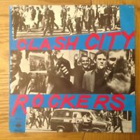 "The Clash Clash City Rockers Mega Rare German 7"" PS Punk Sex Pistols The Damned"