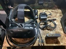 HTC Vive Virtual Reality Headset with Deluxe Audio Strap, Linkbox and Cables