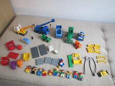 LEGO Bob der Baumeister Set und diverse andere Steine Autos Bagger Figuren etc.