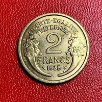 #5374 - 2 francs 1938 Morlon SUP - FACTURE
