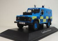 ATLAS 1:43  Land Rover Defender Sussex Police car Diecast car British police car
