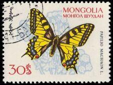 """MONGOLIA 335 (Mi340) - """"Papilio machaon"""" Butterfly (pa31551)"""