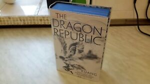 R.F.Kuang fairyloot signed first edition blue edges Dragon Republic inscribed